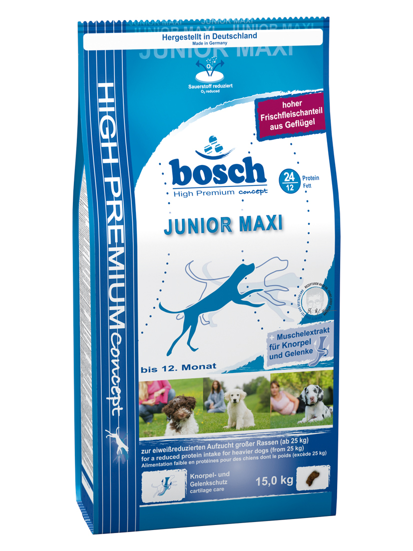 bosch junior maxi sucha karma dla ps w junior w 15kg. Black Bedroom Furniture Sets. Home Design Ideas
