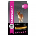 EUKANUBA ADULT NORMAL MEDIUM Sucha karma dla psów 15 kg