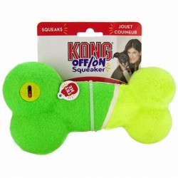 KONG Off/On Squeaker Bone Large Zabawka dla psa