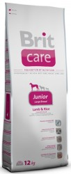 BRIT Dog Care Junior Large Breed Lamb & Rice 3 kg