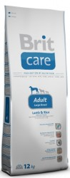 BRIT Dog Care Adult Large Breed Lamb & Rice 12 kg