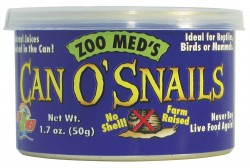 ZOO MED CAN O SNAILS ślimaki 30 szt.