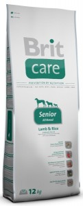 BRIT Dog Care Senior All Breed Lamb & Rice sucha karma dla psów seniorów 1 kg