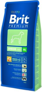 BRIT Dog Premium Junior XL (Extra large) sucha karma dla psów juniorów 15 kg
