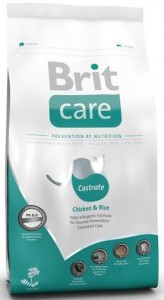 BRIT Care Cat Castrate Chicken and Rice sucha karma dla kotów 0,4 kg