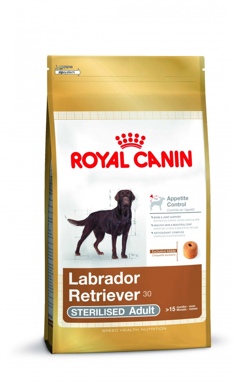 royal canin labrador retriever 30 sterilised adult sucha karma dla ps w 12 kg. Black Bedroom Furniture Sets. Home Design Ideas