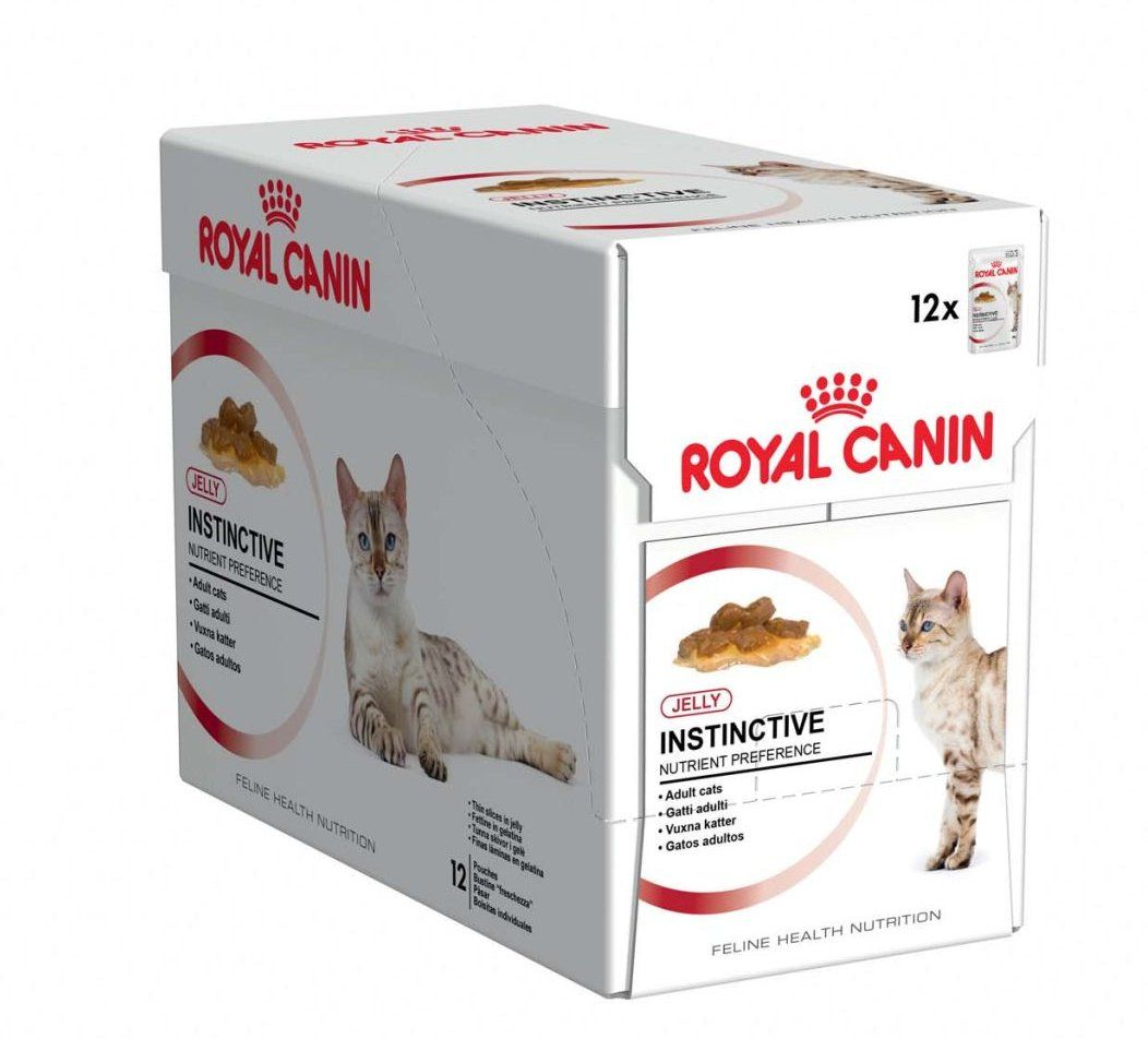 royal canin instinctive jelly mokra karma dla kot w 12x85g. Black Bedroom Furniture Sets. Home Design Ideas