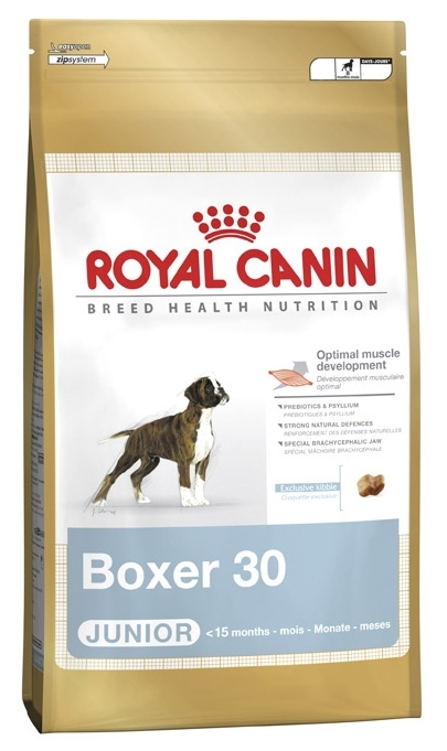 royal canin boxer 30 junior sucha karma dla szczeni t 12 kg. Black Bedroom Furniture Sets. Home Design Ideas