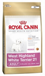 ROYAL CANIN West Highland White Terrier 21 Adult sucha karma dla psów 500g