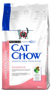 PURINA CAT CHOW Special Care Sensitive sucha karma dla kotów 0,4kg