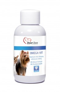 OVER ZOO Omega Vit preparat dla psów 50ml