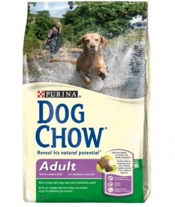 PURINA DOG CHOW Adult Lamb & Rice sucha karma dla psów 14kg