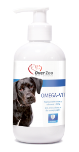 OVER ZOO Omega Vit preparat dla psów 250ml