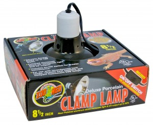 ZOO MED CLAMP lampa porcelanowa do terrarium średnica 25cm