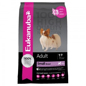 EUKANUBA ADULT NORMAL SMALL Sucha karma dla psów 3 kg