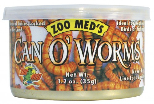 ZOO MED CAN O WORMS mącznik 300 szt.