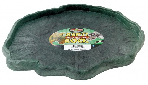 ZOO MED REPTI ROCK FOOD DISH miska na pokarm do terrarium rozmiar XL